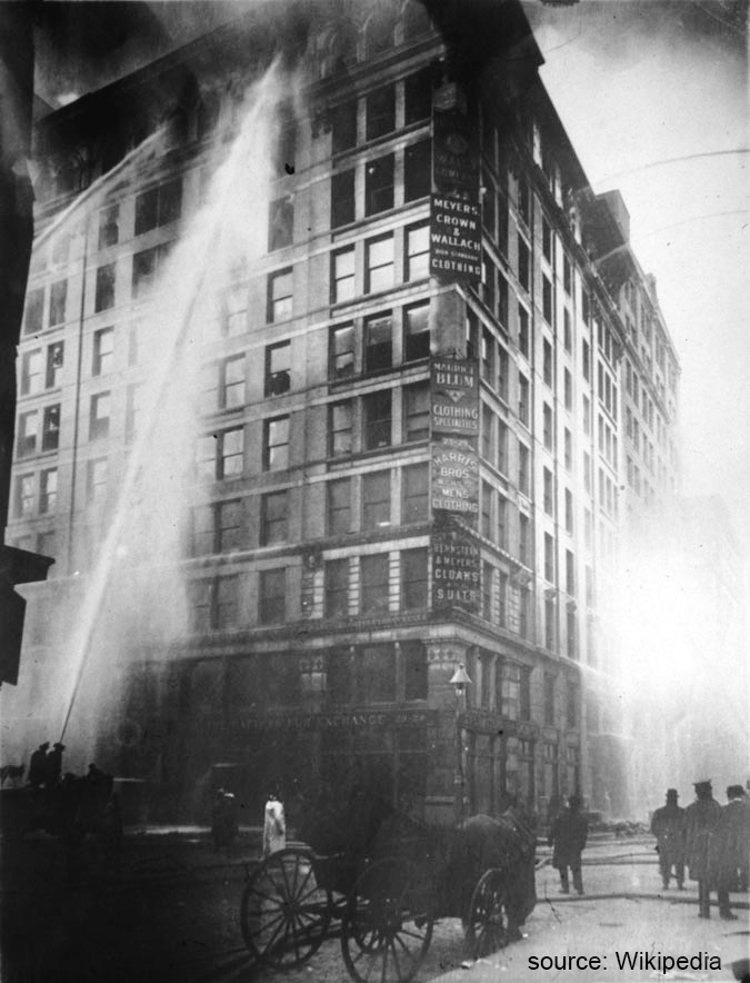 10 Of The Biggest Disasters In The History Of New York City Blog Series:  The Triangle Shirtwaist Factory Fire